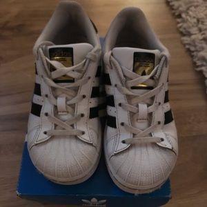 Adidas allstars kids size 10.5K